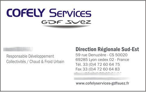 carte de visite COFELY