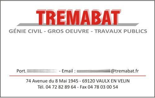 cartes de visite TREMABAT